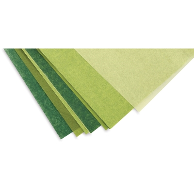 Summer Meadow Frosted Tissue Paper, 24 Sheets