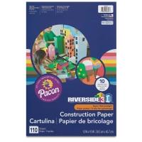 Pacon Riverside 3D Construction Paper, Pkg of 110 Sheets