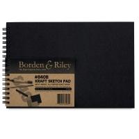 Borden & Riley #840B Kraft Sketchbooks