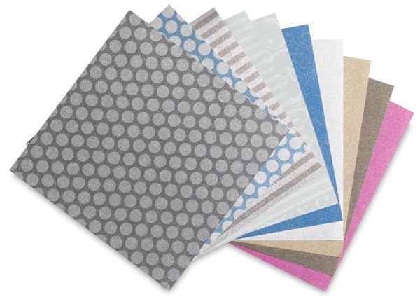 Pow! Glitter Paper