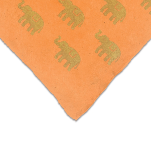 Elephant (Gold and Orange)