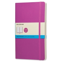 Soft Cover Notebook, Large, Purple
