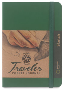 Traveler Sketchbook, Green