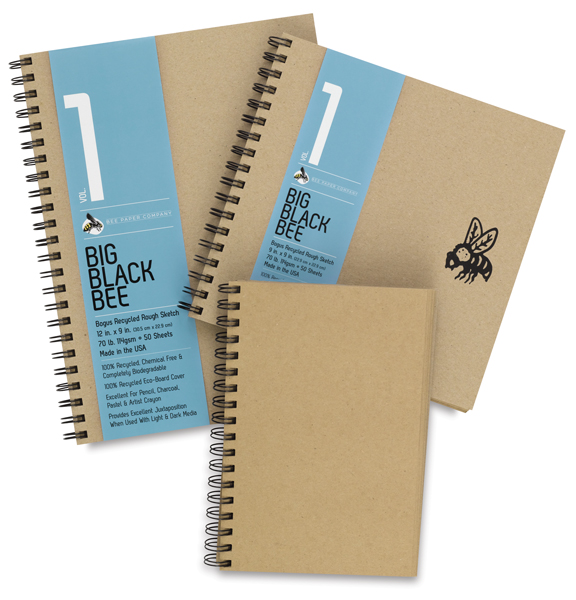 Bogus Recycled Rough Sketchbooks