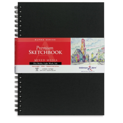 Alpha Series Sketchbook, 50 pages
