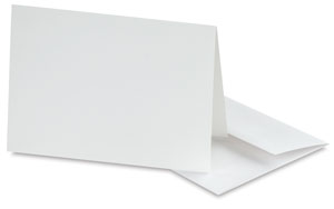 Inkjet Watercolor Cards and Envelopes, Pkg of 8