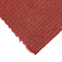 Hanja Script Paper, Gold/Red
