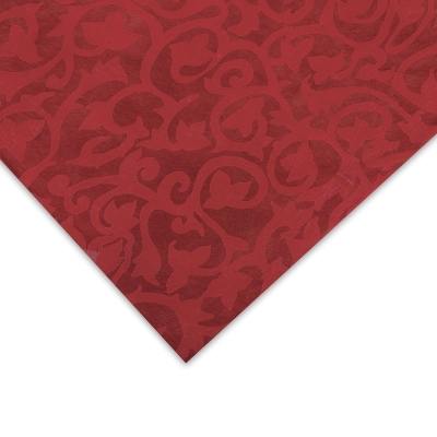 Lokta Flower Paper, Red