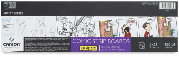 Comic Strip Boards, 14 sheets