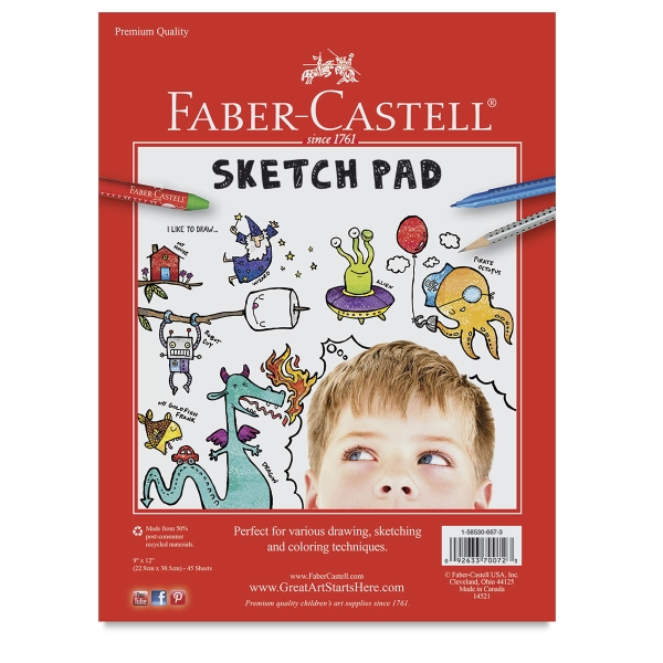 Sketch Pad, 45 Sheets
