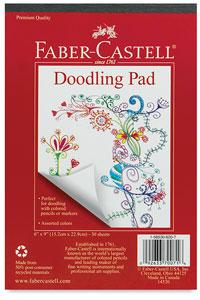Doodling Pad, 30 Sheets