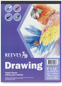 Drawing Pad, 50 Sheets