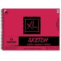 Wirebound Sketch Pad, 50 Sheets