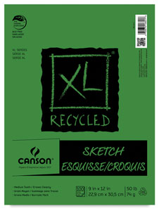 Canson XL Recycled Sketch Pads