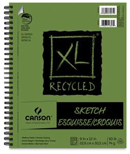 Sketch Pad, Wirebound Side