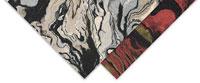 Black Ink Nepalese Marbled Lokta Papers