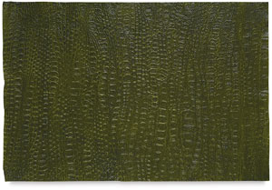 Crocodile Paper, Antique Green