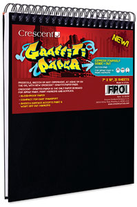 "Graffiti Paper, 7"" × 10"" Pad"