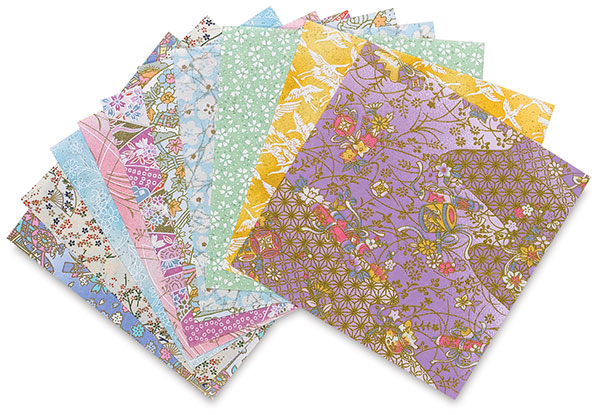 Yasutomo Yuzen Origami Papers Blick Art Materials