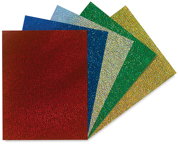 Sparkle Holographic Self-Adhesive Paper