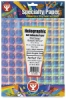Plaid Holographic Self-Adhesive Paper