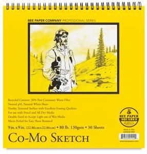 "Co-Mo Sketch Pad, 9"" × 9"""
