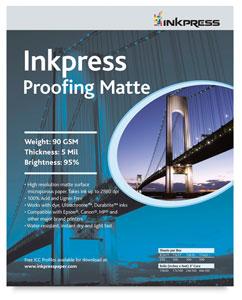 Inkpress Proofing Matte, Package of 250