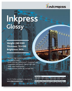 Inkpress Glossy, Pkg of 50