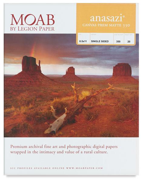 Anasazi Canvas Premium Matte, 350 gsm