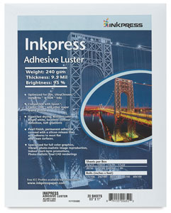 Inkpress Adhesive Luster, Pkg of 20