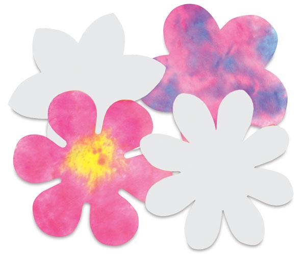 Flower Shapes, Pkg of 80