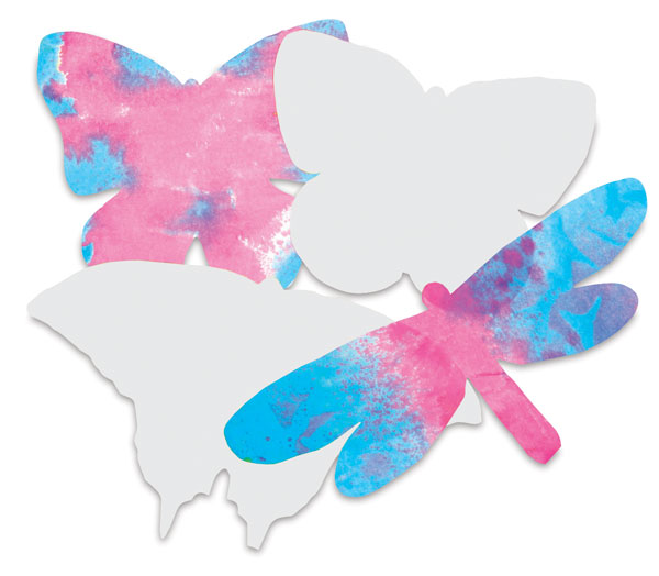 Butterfly Shapes, Pkg of 48