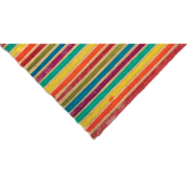 Lokta Paper, Batik Colorful Stripes