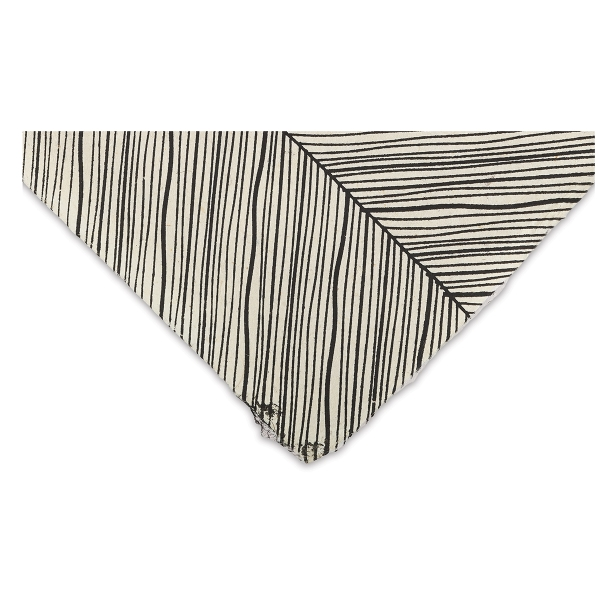 Herringbone (Black and Cream)