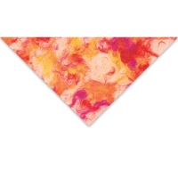 Marble Patch (Orange and Magenta)