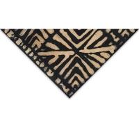 Batik Squares, Black