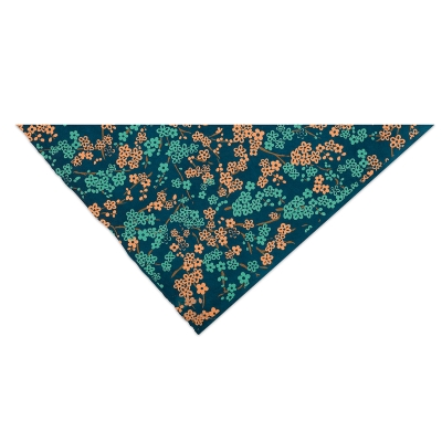 Forever Floral (Teal, Copper, and Blue)