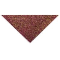 Glitter Flake (Raspberry and Gold)