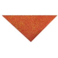Glitter Flake (Red and Gold)