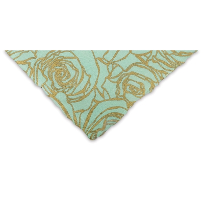 Roses (Gold and Mint)