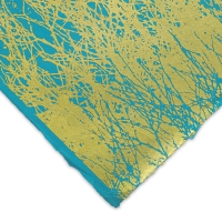 Branches (Gold and Turquoise)