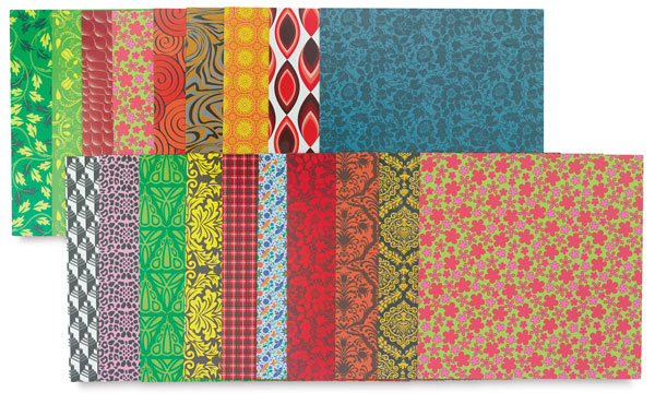 Super Value Patterned Cardstock, 60 Sheets