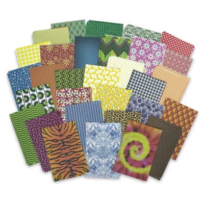 All Kinds of Fabric Paper, 200 Sheets