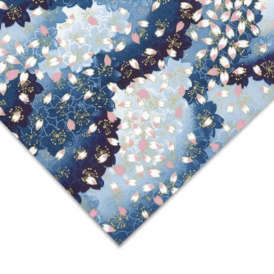 Flower Petals, Pink/White/Blue