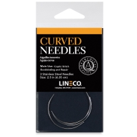 Curved Bookbinding Needles, Pkg of 3