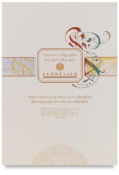 Calligraphy Pad, 35 Sheets