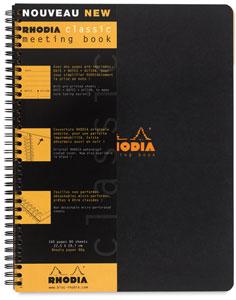 Meeting Book, Black