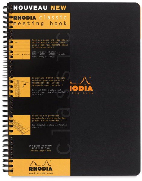 Meeting Book, Black