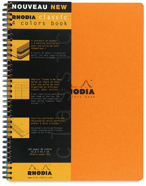4-Color Book, Orange