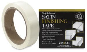 Satin Cloth Tape, Ivory